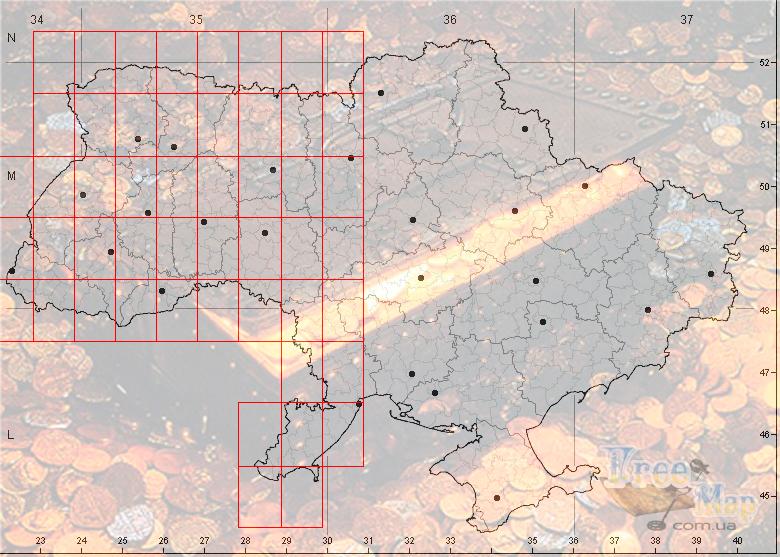Карты Австрийские 1910 года (с привязкой для GPS)