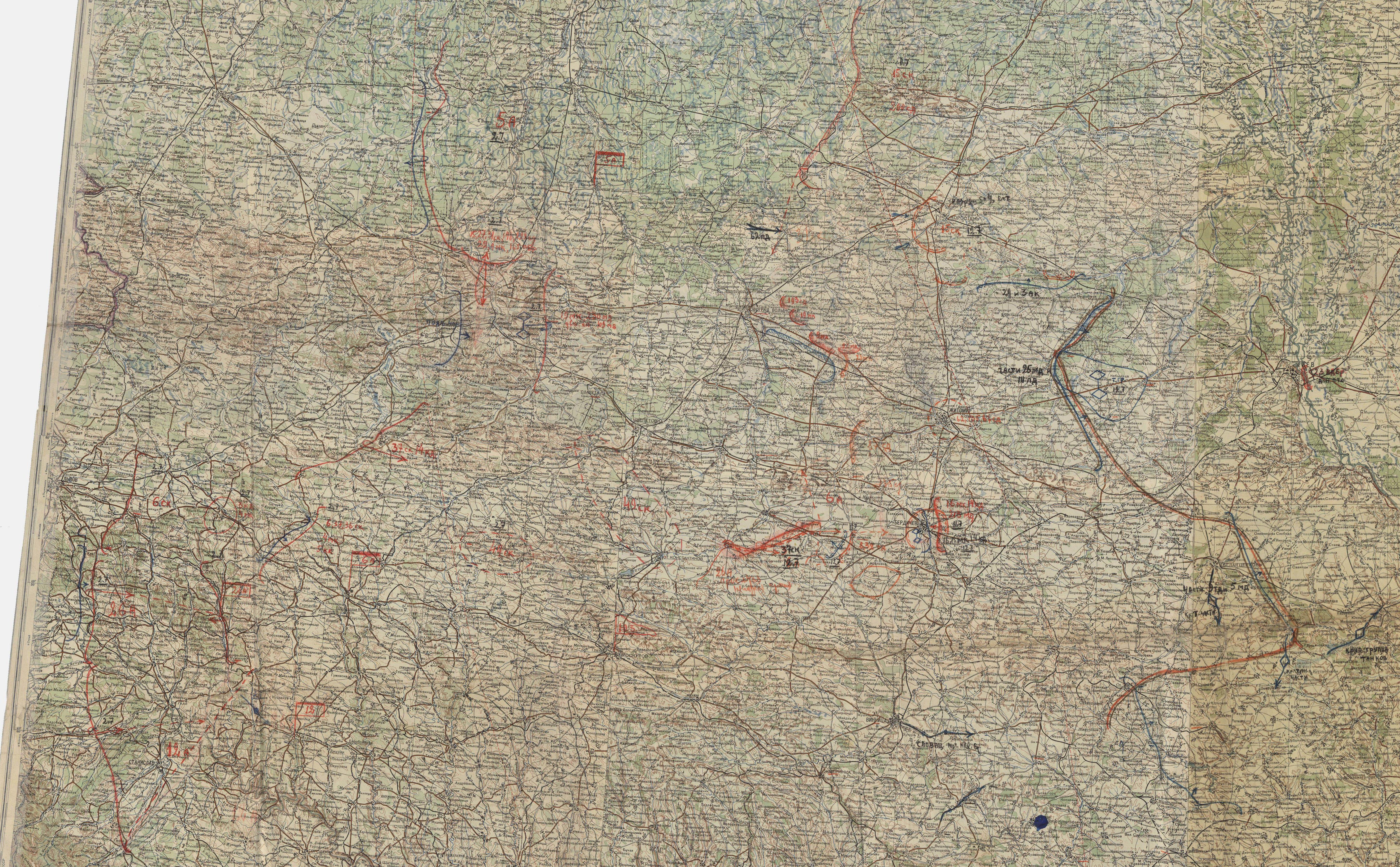 Карты Генштаба 500 Метровки